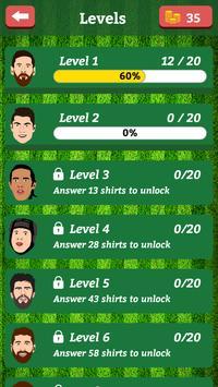 Football prediction game - guess footballer 2018 screenshot 1
