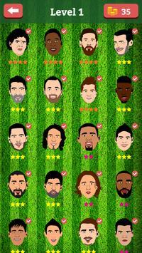 Football prediction game - guess footballer 2018 screenshot 2