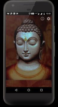 Buddha Light Chant Meditate poster