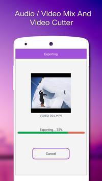 Audio / Video Mix,Video Cutter apk screenshot