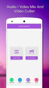 Audio / Video Mix,Video Cutter poster