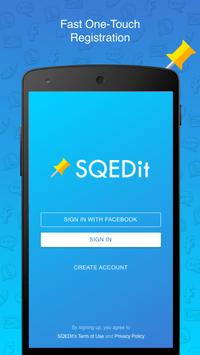 SQEDit Scheduling App: Schedule Whatsapp SMS Calls apk screenshot