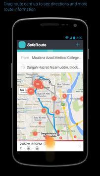 SafeRoute apk screenshot
