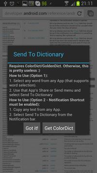 Send To Dictionary for Android - APK Download