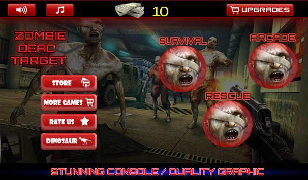 Zombie: Dead Target poster