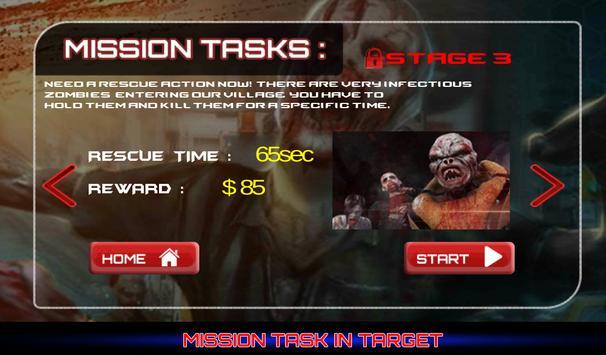 Zombie: Dead Target apk screenshot
