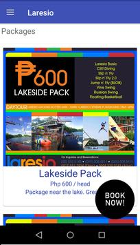 Laresio Mobile Booking poster