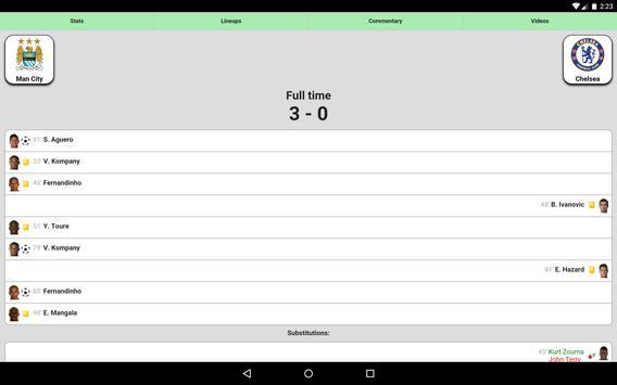 Sepak bola screenshot 5