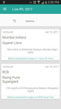 Live IPL 2017 poster