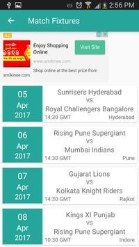 Live IPL 2017 apk screenshot