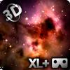 Space - Stars & Clouds 3DXL Wallpaper + Cardboard icono