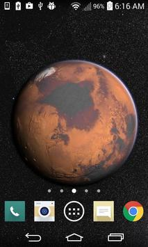 Mars in HD Gyro 3D Free poster