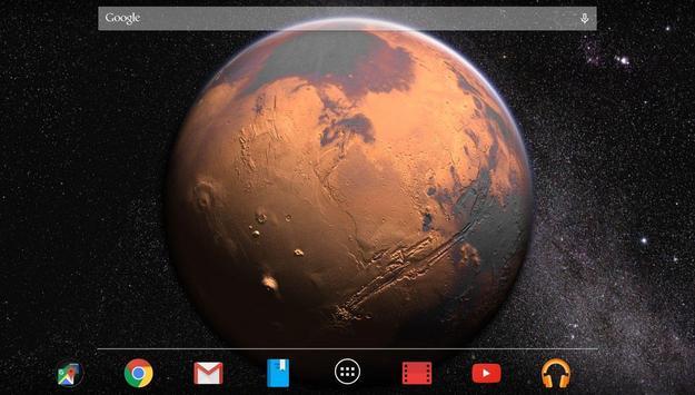 Mars in HD Gyro 3D Free apk screenshot