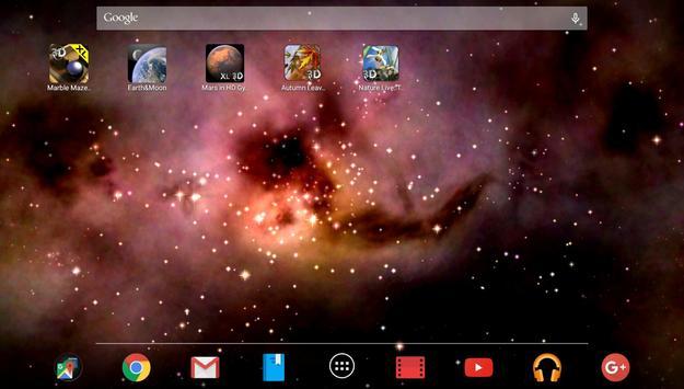 Space! Stars & Clouds 3D Free screenshot 4