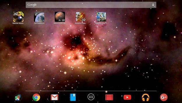 Space! Stars & Clouds 3D Free screenshot 7