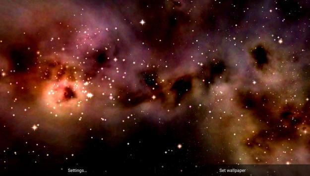 Space! Stars & Clouds 3D Free screenshot 3