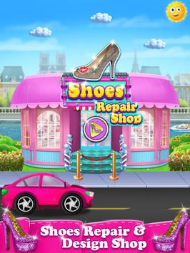 Shoe Designer Shop : Shoe Spa and Decor For kids poster