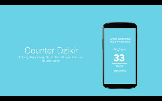 Dzikir Counter poster