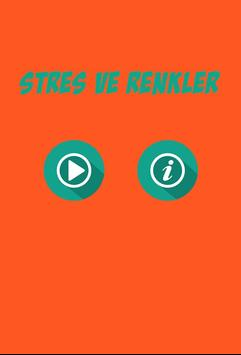 Stres ve Renkler poster