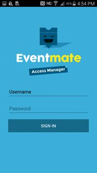 Eventmate Access Manager poster