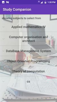 Study Companion(Beta) screenshot 2