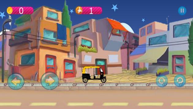 Rickshaw Racing screenshot 1