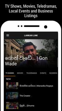 Lankan Link, Sri Lanka TV, Movies & Teledramas poster