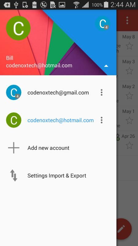 how to delete yahoo email account from gmail app