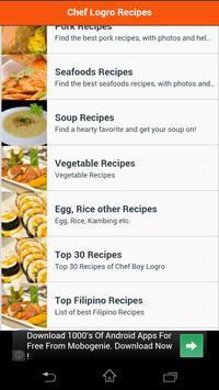 Chef Boy Logro Recipes screenshot 2