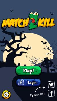 Match 2 Kill: Match 3 Action Puzzle poster