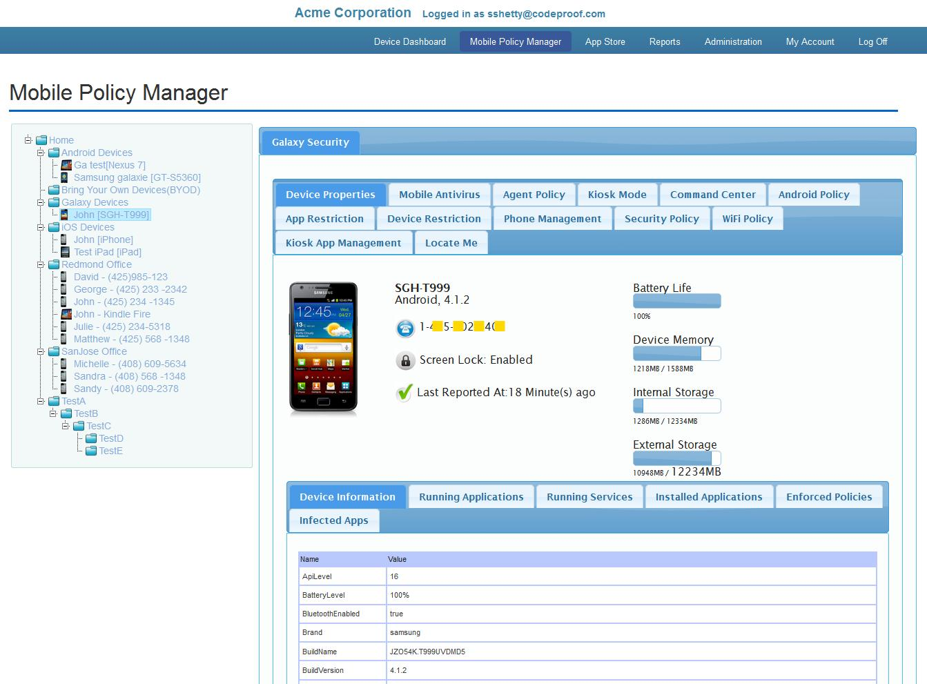 Codeproof MDM for Samsung for Android - APK Download