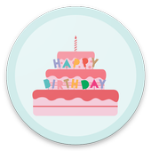 Happy Birtday Gif Stickers icon