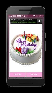 Happy Birtday Gif Stickers screenshot 2