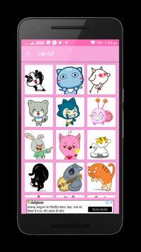 Happy Birtday Gif Stickers apk screenshot