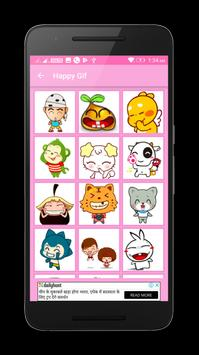 Happy Birtday Gif Stickers screenshot 5