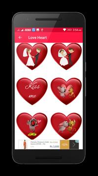 Valentine Love Heart Gif & images screenshot 4