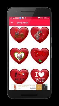 Valentine Love Heart Gif & images screenshot 5