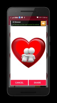 Valentine Love Heart Gif & images screenshot 6