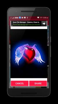 Valentine Love Heart Gif & images screenshot 7