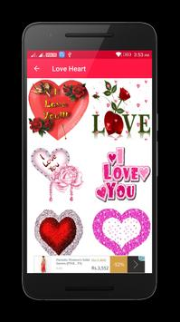 Valentine Love Heart Gif & images poster