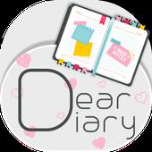 DearDiary- Diary, Journal icon