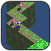 3D Volleyball ZigZag icon