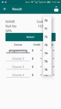 SPR GPA Calculator screenshot 3