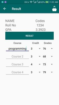 SPR GPA Calculator screenshot 5