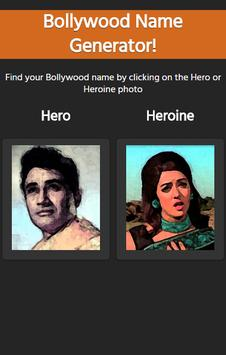 Bollywood Name Generator Free poster