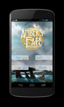 Ambar's Fate - The Gamebook poster