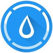 Hydro Coach💦 drink water reminder & water tracker icon