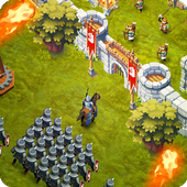 Game android Lords & Castles - RTS MMO World War Battles APK new 2017 terbaik