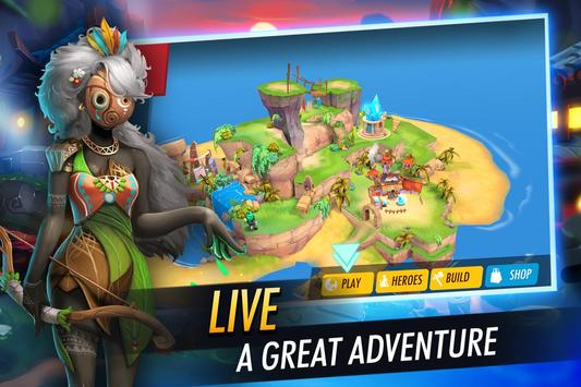 Heroes of Rings: Dragons War - Fantasy Quest Games apk screenshot