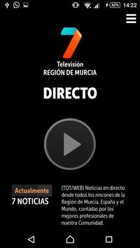 7 TV PLAYER Región de Murcia apk screenshot